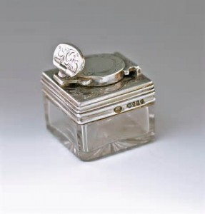 traveling inkwell william neal london 1859